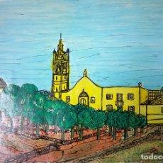 Arte: DIBUJO SOBRE CARTULINA - 50 X 69,5 - 1991 SANTY. Lote 180225312