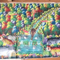 Arte: ÓLEO SOBRE LIENZO - PAISAJE AFRICANO - FIRMADO. Lote 180243852