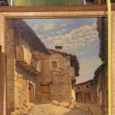 Arte: OLEO BUENA CALIDAD ENMARCADO FIRMA DE E.BAQUERA 70CM X 64CM. Lote 180278166