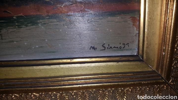 Arte: Vendo cuadro antiguo, de 1895 pintor m.simo. - Foto 3 - 180289050