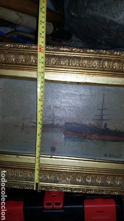 Arte: Vendo cuadro antiguo, de 1895 pintor m.simo. - Foto 8 - 180289050