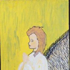 Arte: DIBUJO SOBRE CARTULINA - 51,5 X 35. Lote 180339650