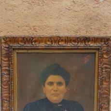 Arte: RETRATO MUJER ,FIRMADO VENTURA 1927. Lote 180408357