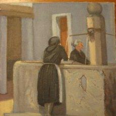 Arte: PEDRO BARCELO. PINTURA ORIGINAL LIENZO SOBRE TABLA. MALLORCA 1884-1969.. Lote 180434955