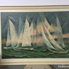 Arte: PINTURA AL ÓLEO SOBRE LIENZO FIRMADA POR JOAQUÍN CAÑETE BABOT. Lote 180456232