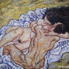 Arte: EL ABRAZO ,LOS AMANTES DE SCHIELE. Lote 180457460