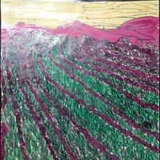 Arte: DIBUJO SOBRE CARTULINA - 64,5 X 50 - SANTY 1981. Lote 180463936