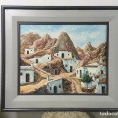 Arte: PINTURA AL ÓLEO SOBRE LIENZO FIRMADA POR MAXI. Lote 180875397