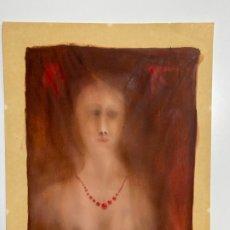 Arte: TECNICA MIXTA SOBRE PAPEL , FIRMADO CON MONOGRAMA DE ORIGEN FRANCIA. Lote 180888000