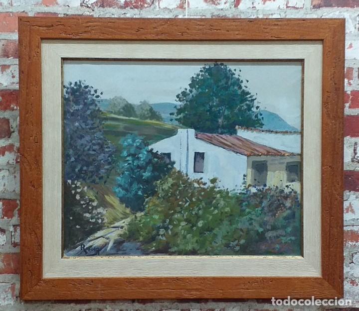 ÓLEO SOBRE LIENZO FIRMADO REINA (Arte - Pintura - Pintura al Óleo Antigua sin fecha definida)