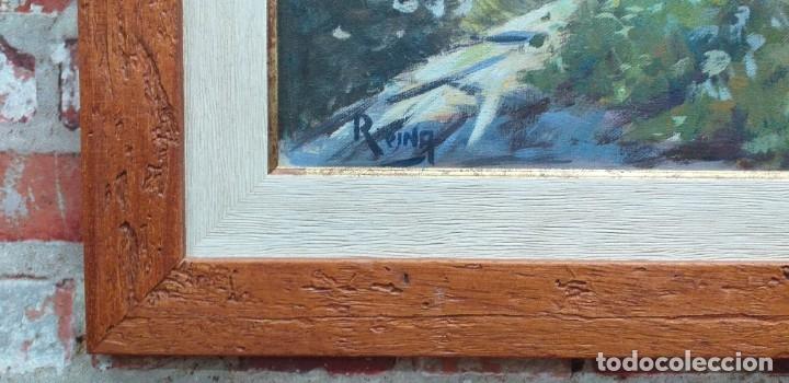 Arte: Óleo sobre lienzo firmado Reina - Foto 3 - 180951237