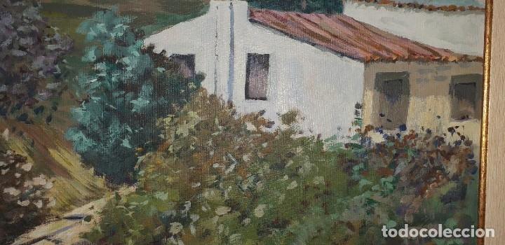 Arte: Óleo sobre lienzo firmado Reina - Foto 10 - 180951237