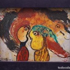 Arte: MATT LAMB (CHICAGO 1932-2012) EXCEPCIONAL OBRA DEL GRAN INNOVADOR DEL ARTE CONTEMPORÁNEO. Lote 180982737
