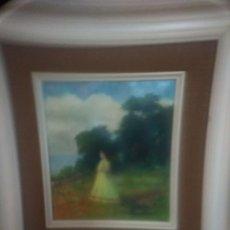 Arte: OBRA FIRMADA MIGUEL BORREL. Lote 180996328
