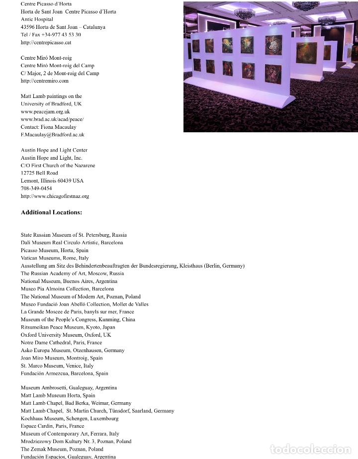 Arte: MATT LAMB (Chicago 1932-2012) Excepcional obra del gran innovador del arte contemporáneo - Foto 6 - 180982737