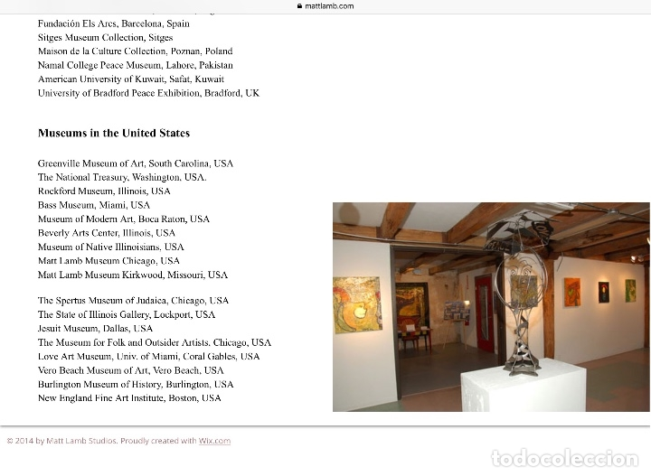 Arte: MATT LAMB (Chicago 1932-2012) Excepcional obra del gran innovador del arte contemporáneo - Foto 9 - 180982737