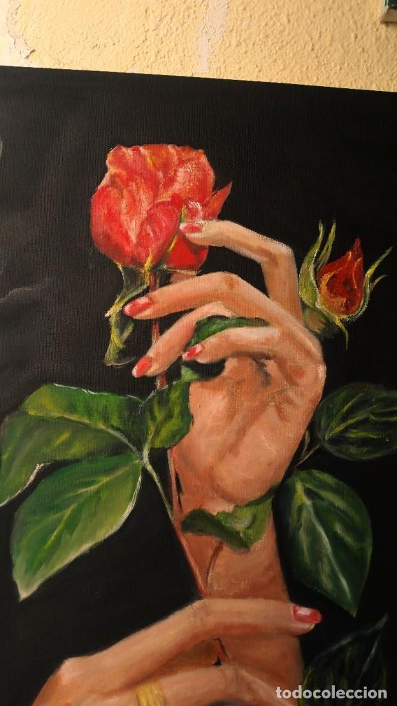 Arte: rosas en las manos - Foto 3 - 181098792