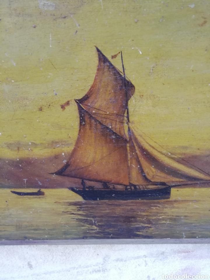 Arte: Pareja de tablas pintadas al óleo - Foto 4 - 181122827