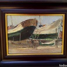 Arte: CHOVA GISBERT - JOSE MARIA - OLEO A ESPATULA. Lote 181137721