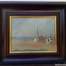 Arte: CHOVA GISBERT - JOSE MARIA - OLEO A ESPATULA. Lote 181138796