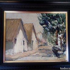 Arte: CHOVA GISBERT - JOSE MARIA - OLEO A ESPATULA. Lote 181141071