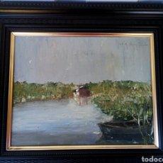 Arte: CHOVA GISBERT - JOSE MARIA - OLEO A ESPATULA. Lote 181142485