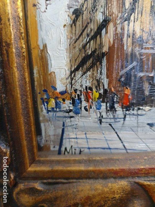Arte: CUADRO OLEO SOBRE TABLA FIRMADO - Foto 2 - 181162197