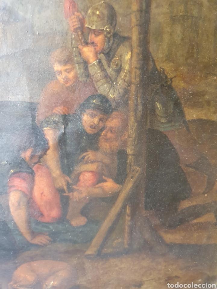 Arte: Oleo sobre cobre xvii calvario - Foto 11 - 181190020