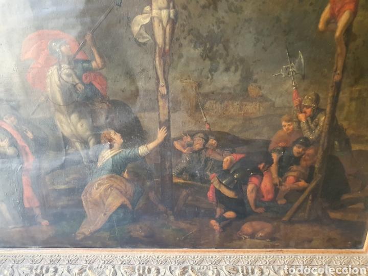 Arte: Oleo sobre cobre xvii calvario - Foto 16 - 181190020