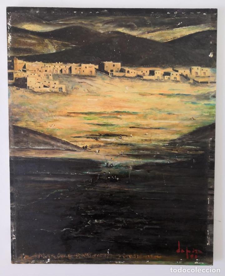 OLEO SOBRE TABLA, FIRMADO Y FECHADO (Arte - Pintura - Pintura al Óleo Contemporánea )