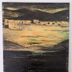 Arte: OLEO SOBRE TABLA, FIRMADO Y FECHADO. Lote 181336057