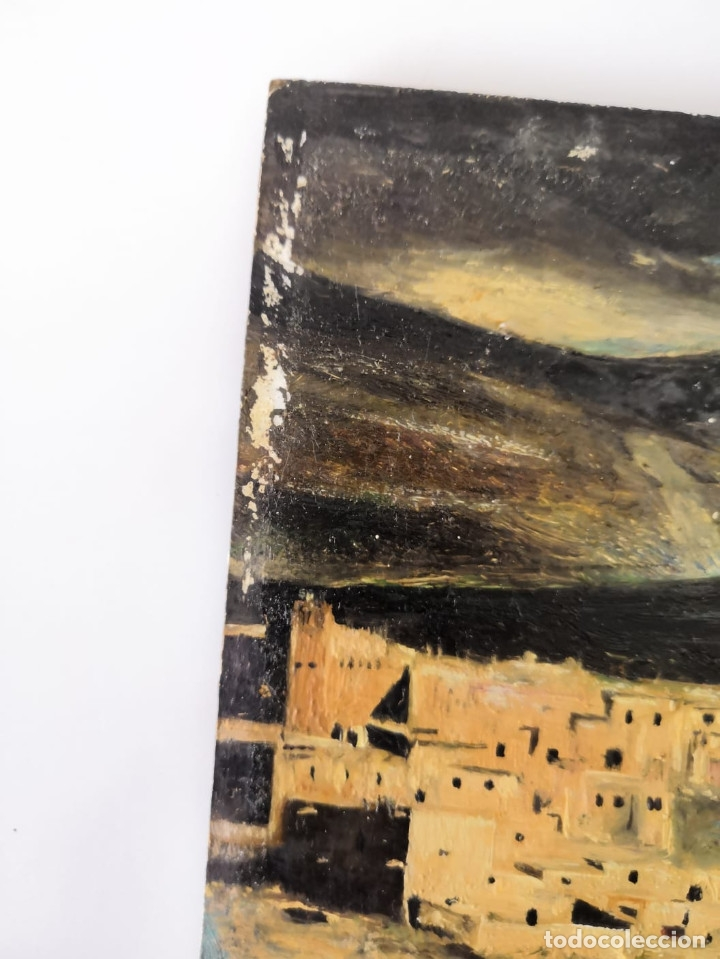 Arte: Oleo sobre tabla, firmado y fechado - Foto 5 - 181336057