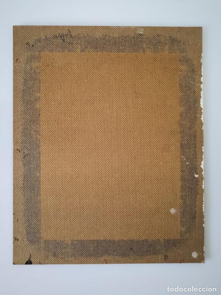 Arte: Oleo sobre tabla, firmado y fechado - Foto 6 - 181336057