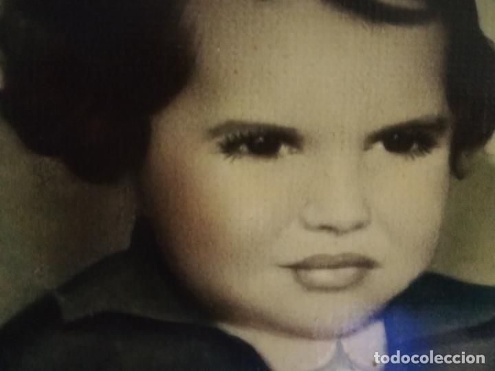 Arte: Retrato de niña al oleo? principio siglo XX - Foto 4 - 181499753
