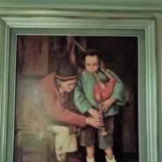 Arte: LECCIÓN DE GAITA. Lote 181510392
