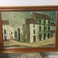 Arte: PINTURA AL ÓLEO SOBRE LIENZO FIRMADA POR MA MANUELA POZO LORA. Lote 181544068