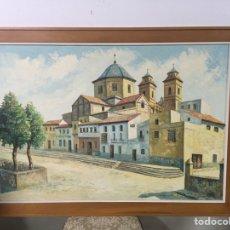 Arte: PINTURA AL ÓLEO SOBRE LIENZO FIRMADA POR MAXI. Lote 181546007