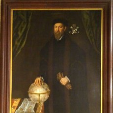 Arte: GRAN OBRA DE ARTE RETRATO DE SIR THOMAS SMITH, ESCUELA DE HANS HOLBEIN (1497-1543)ALREDEDOR DE 1540. Lote 181554988