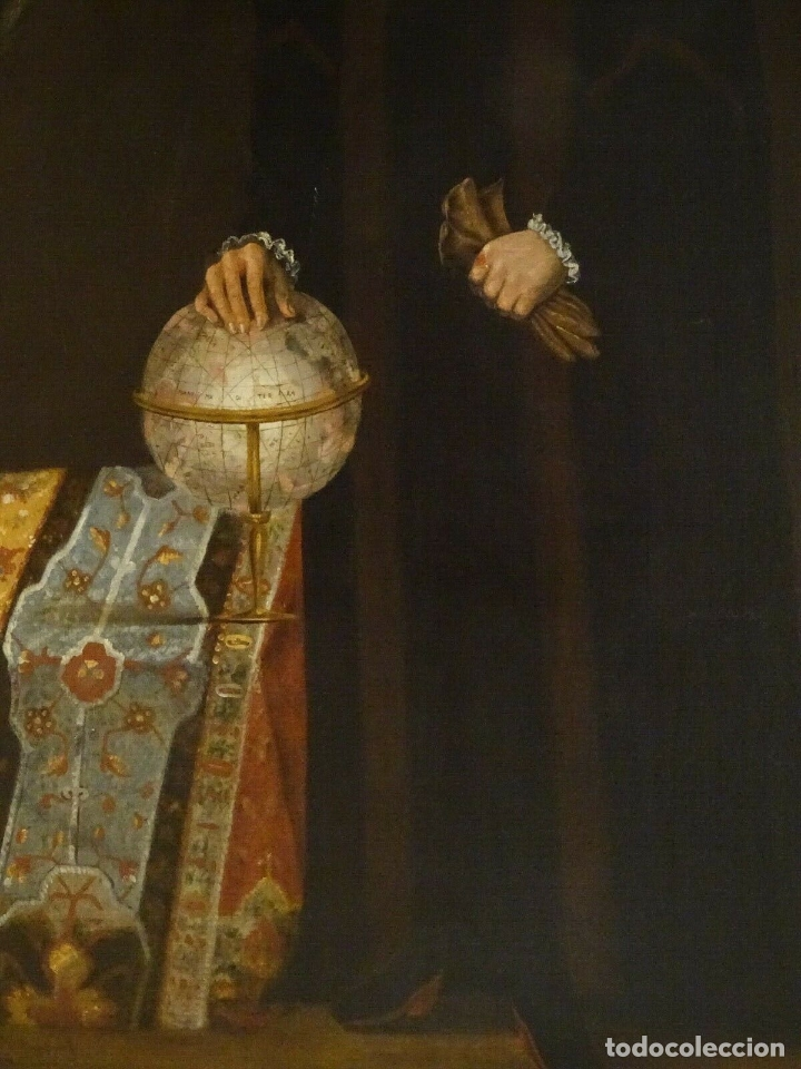Arte: GRAN OBRA DE ARTE RETRATO DE SIR THOMAS SMITH, ESCUELA DE HANS HOLBEIN (1497-1543)ALREDEDOR DE 1540 - Foto 7 - 181554988