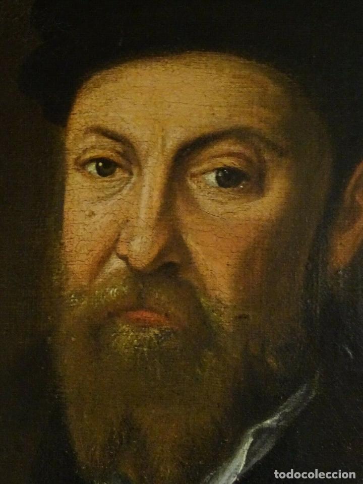 Arte: GRAN OBRA DE ARTE RETRATO DE SIR THOMAS SMITH, ESCUELA DE HANS HOLBEIN (1497-1543)ALREDEDOR DE 1540 - Foto 11 - 181554988