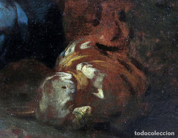 Arte: Diana y Endimión óleo sobre lienzo escuela italiana del siglo XVII - Foto 4 - 181563355