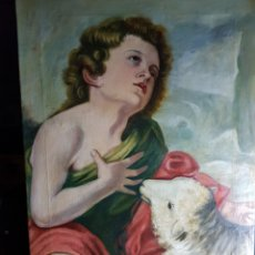 Arte: SAN JUAN BAUTISTA DESPUÉS DE MURILLO. Lote 181578423