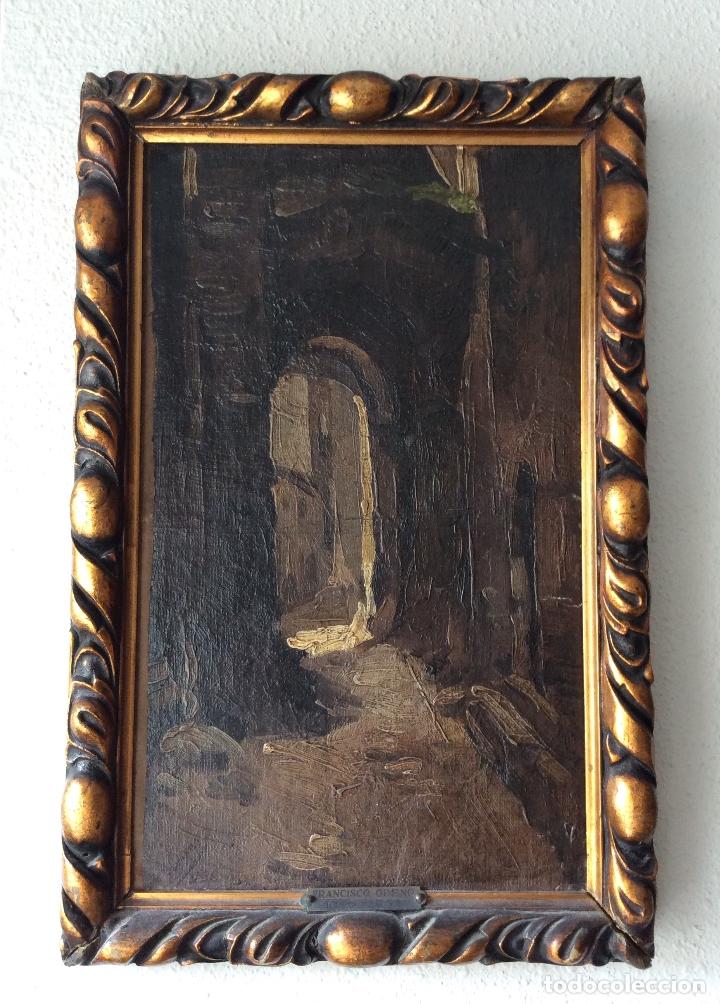 FRANCISCO GIMENO ARASA ,OBRA ORIGINAL FIRMADA Y CERTIFICADA.COLECCIONISTAS (Arte - Pintura - Pintura al Óleo Antigua siglo XVIII)