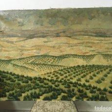 Arte: PINTURA AL ÓLEO SOBRE LIENZO FIRMADA POR JOAQUÍN CAÑETE BABOT. Lote 181696260
