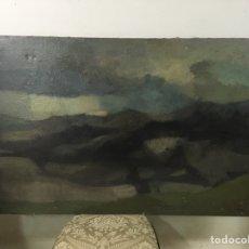Arte: PINTURA AL ÓLEO SOBRE LIENZO FIRMADA POR RAMON PUIG BENLLOCH. Lote 181699748