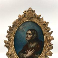 Arte: ÓLEO SOBRE COBRE. VIRGEN MATER DOLOROSA. S.XVIII. Lote 181944355