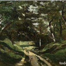 Arte: CIRCULO DE COROT - SOMBRAS EN EL BOSQUE - CON SELLO DE LACRE. Lote 181975545