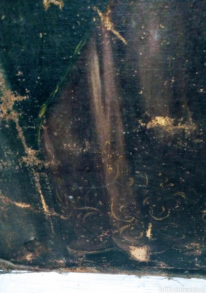 Arte: SALVATOR MUNDI CUADRO RETABLO DE GRAN TAMAÑO S. XV-XVII - Foto 5 - 181976396