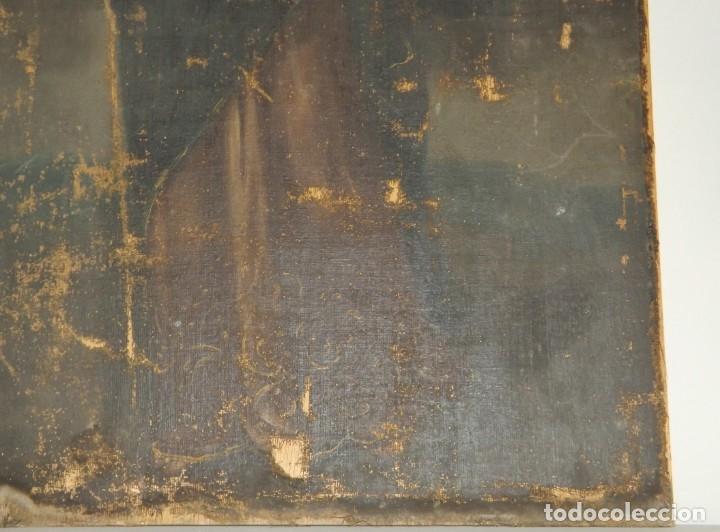Arte: SALVATOR MUNDI CUADRO RETABLO DE GRAN TAMAÑO S. XV-XVII - Foto 14 - 181976396