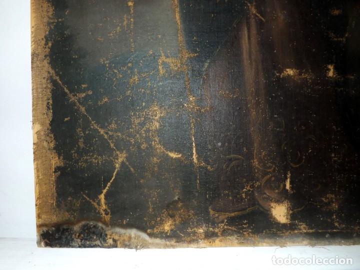 Arte: SALVATOR MUNDI CUADRO RETABLO DE GRAN TAMAÑO S. XV-XVII - Foto 19 - 181976396